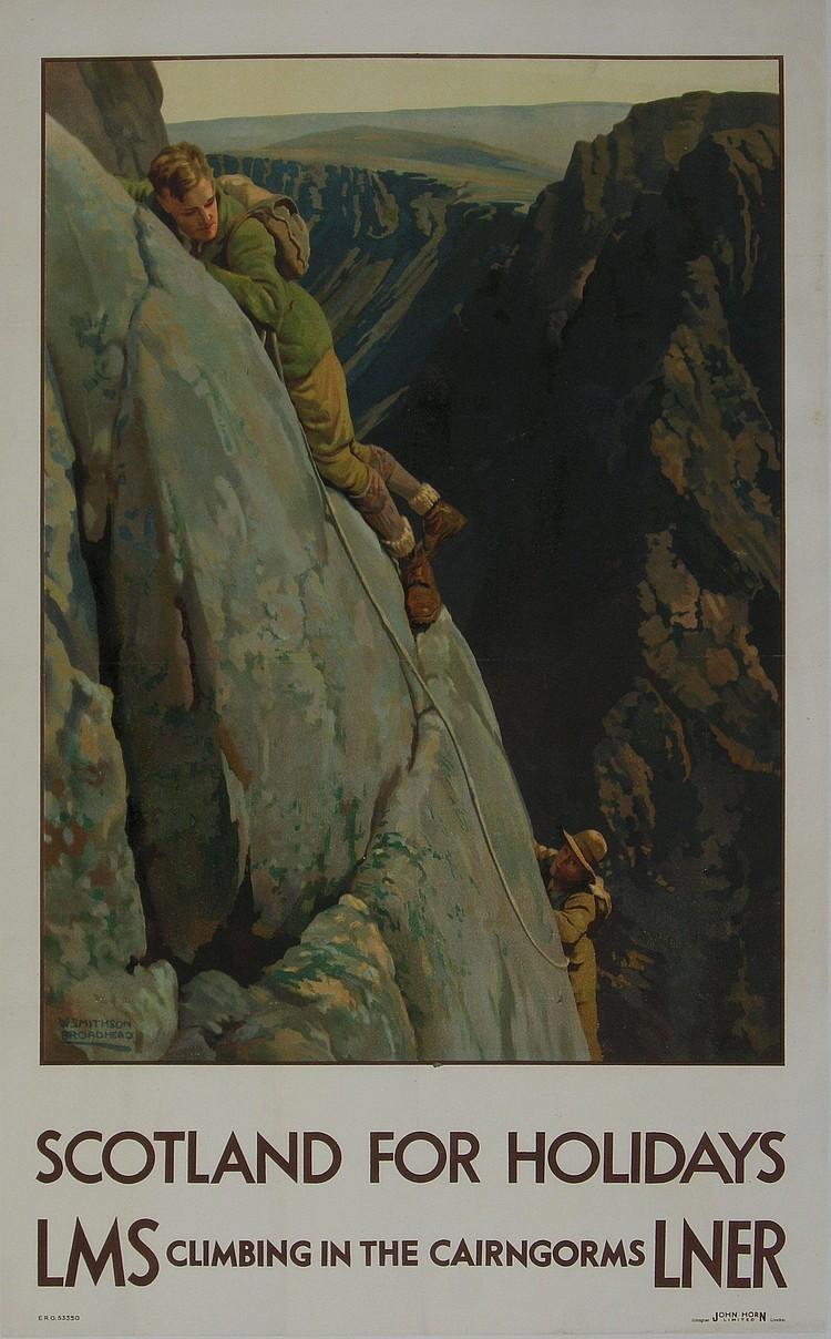 W Smithson Broadhead (1888-1960) Scotland for