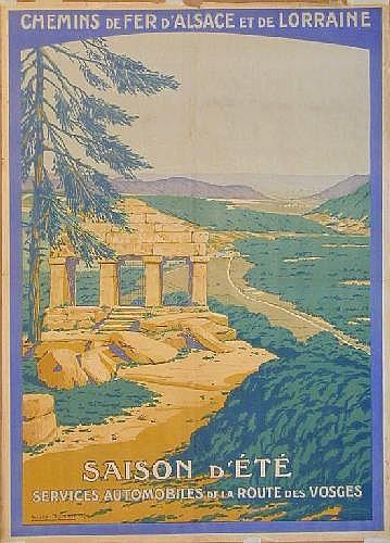 Vintage Travel Posters: Andre Fremond Saison d'Ete