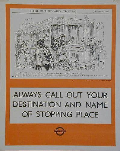 London Transport Posters: Wallis Mills, Always