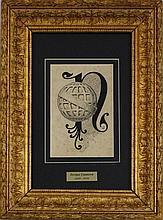 Enrique Casanova (1850-1913) - Original - Desenho