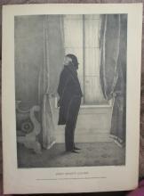President John Adams Silhouette - Brown & Kellogg