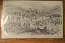 Engagement At Kulp House 1864 ~ Civil War