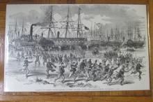 Landing of Troops at Fort Walker ~ Civil War
