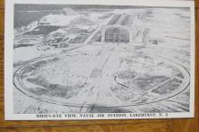 Bird's Eye View Naval Air Station Lakehurst NJ