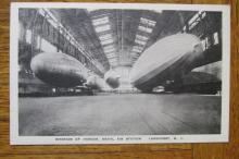 Interior of Hanger  Naval Air Station Lakehurst NJ