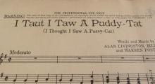 First Appearance I Taut I Taw A Puddy Tat  1950