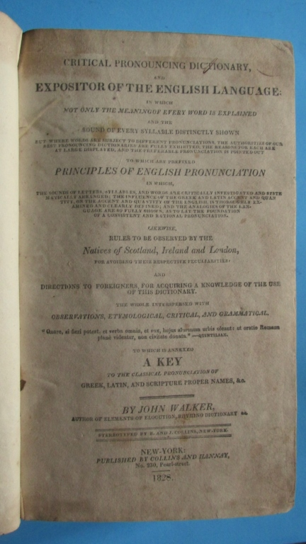 Early American Dictionary