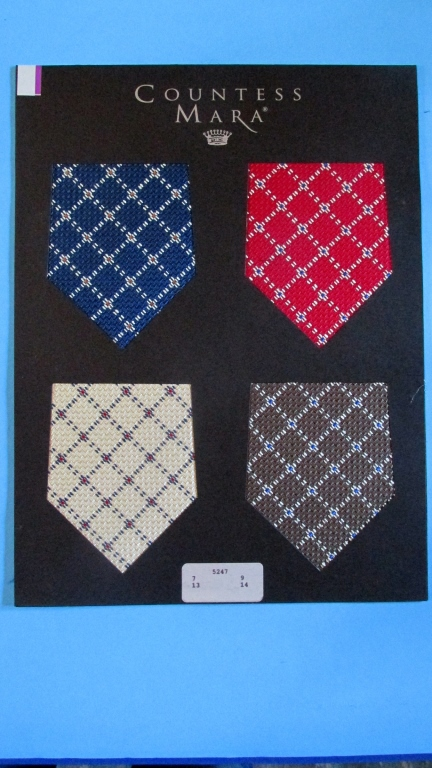 Men's Tie Samples (Countess Mara)  Group of 5