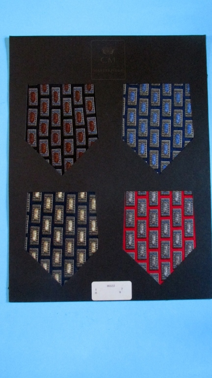 Men's Tie Samples (Countess Mara)  Group of 5