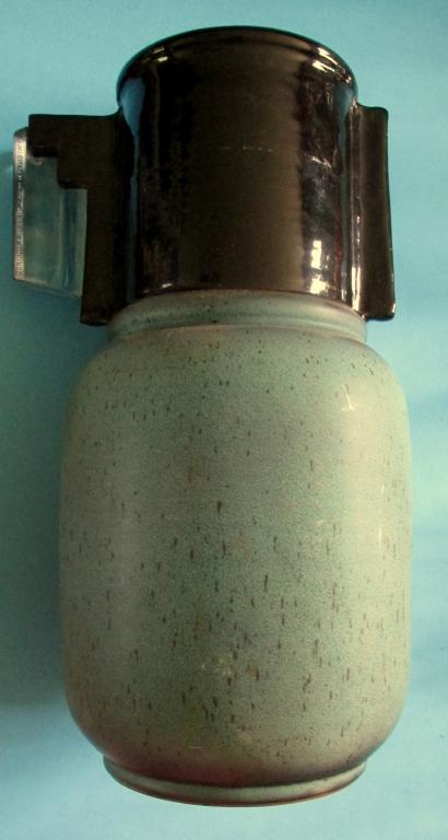 Mid Century Modernist Vase Signed