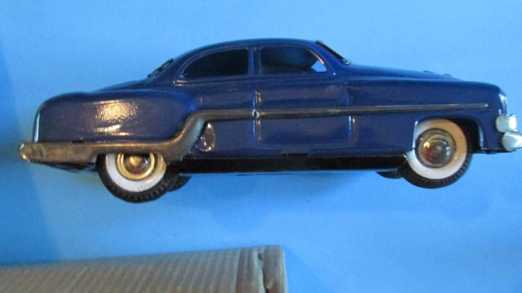Vintage Minister Delux Friction Pontiac Toy Car