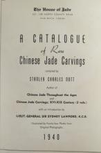 Catalogue of Rare Chinese  Jade Carvings ~ Nott