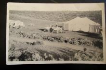 Rare Real Photo Postcard of Circus & Tent