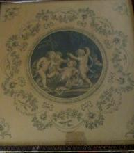Classical Engraving of Putti - 1782