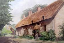 F. W. Pullen - Smuggler's Cottages Dorset