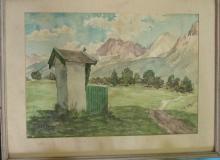 Hertwig  ~ Mountain Landscape