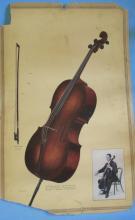 Victor Records Poster Cello Violon