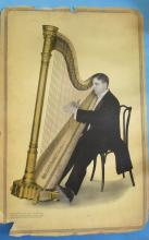 Victor Records Poster The Harp