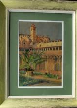 19th Century Orientalist Watercolor