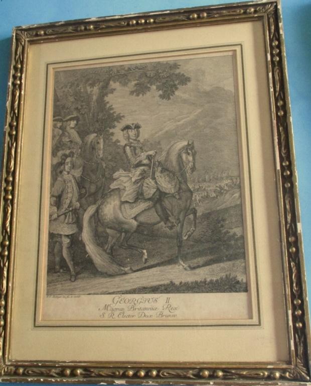 Johann Elias Ridinger Portrait of King George II