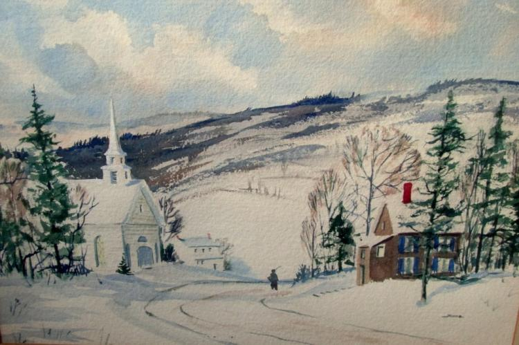 Moore - New England Winter (American School)
