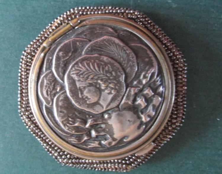 Classical Silver Beaded Coin Purse