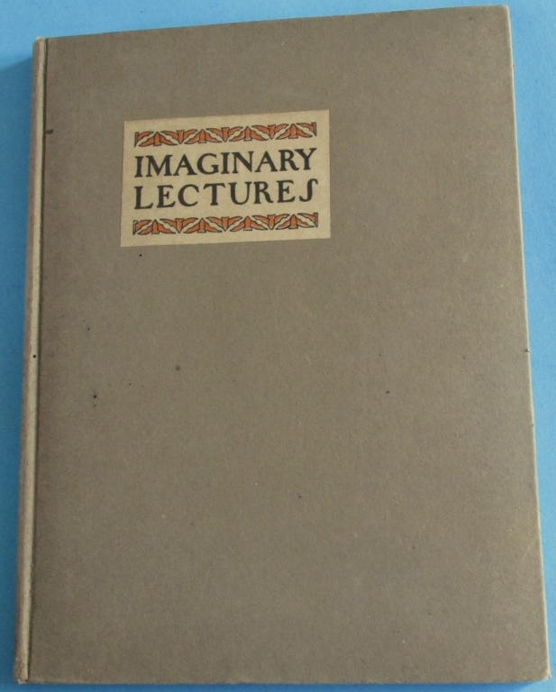 Imaginary Lectures 1900