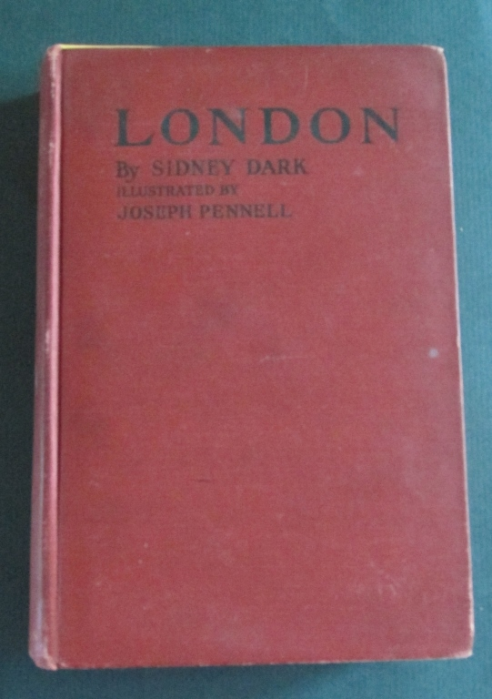 London Illustrated by Joseph Pennell
