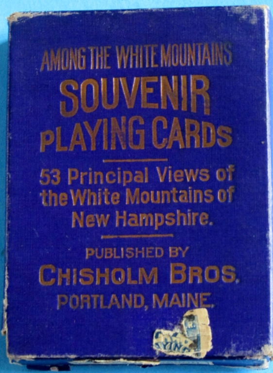 Among the White Mountains Playing Cards