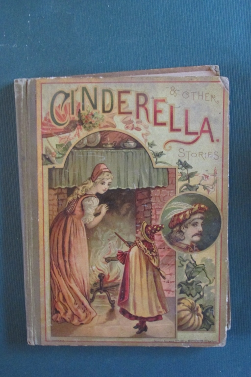 Victorian Books Cinderella Stories & Holly Berries