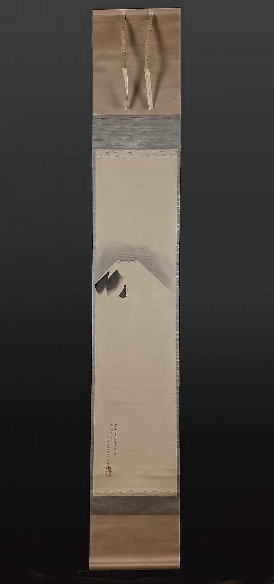 A Paintng of Mount Fuji by Ueda, Kôchû 上田 耕沖 (1819 - 1911)
