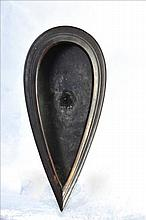 A VERY RARE COPPER HINDU SHIVLING OFFERING VASSEL OF TEMPLE
