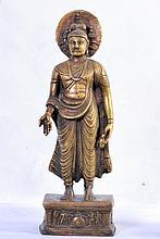 A FINE INDIAN GANDHARAN STYLE BUDDHA