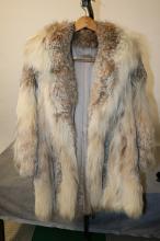 Natural Canadian Lynx Stroller Coat (5253)