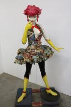 Japanese Girl Comic Book Character