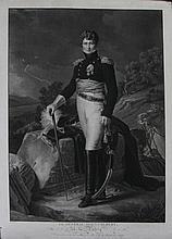 BARON GERARD, D'APRES.  « Le Général Auguste Colbert, à la Patrie ».  Belle et grande gravure par Jazet.  59 x 83 cm.  A.B.E.