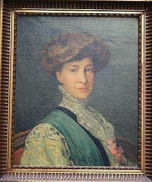 Ernest AZEMA ( 1871 - 1917 ) - Portrait d'une