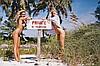 Jean-Pierre BOURGEOIS (né en 1947) Trine & Sandra, Bahamas, 1989 Tirage argentique contrecollé sur aluminium Signé, titré, numéroté 3/5 et annoté LUI magazine au dos 80 x 120 cm, Jean-Pierre Bourgeois, Click for value