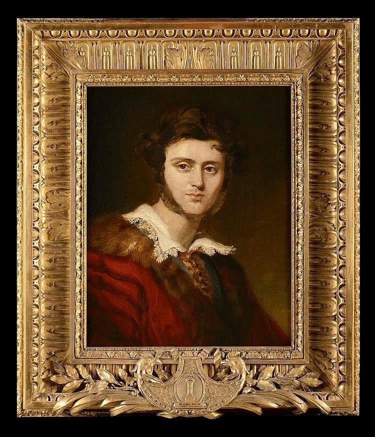 Sir George Hayter 1792 1871 Portrait Du Jeune