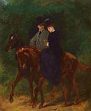 Jean-Baptiste Edouard DETAILLE  (Paris 1848 – 1912) Cavalier et a