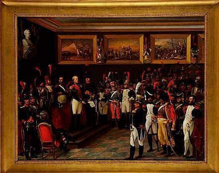 Vente Empire:  BEAUCE Jean Adolphe (1818-1875).