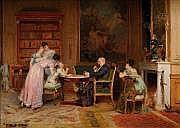 Louis Emile ADAN (Paris 1839 - ? 1937) Dimanche en