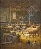 Charles CLAIR ( ? 1860 - ? 1930) Les moutons dans, Charles Clair, Click for value