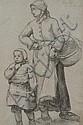 Désirée François LAUGEE (1826 - 1896) Mère et, Désiré François Laugée, Click for value