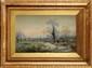 Arthur Reginald WILLETT (1868-1951)  Paysage anglais Aquarelle et légers réhauts de gouache Signée en bas à gauche 27 x 41 cm (10,6 x 16,1 in.)  Watercolour with gouache, Signed lower left