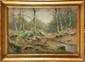 Louis H. DELCUS (XIX-XX) Forêt en automne Aquarelle Signée en bas à droite 36 x 54 cm (14,1 x 21,3 in.)  Watercolour, Signed lower right