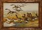 Georges Frédéric RÖTIG (1873-1961)  Le vol de bernaches Sur sa toile d'origine  Signée en bas à droite 88 x 130 cm (34,6 x 51,2 in.)  On its original canvas, Signed lower right