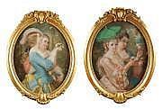 Constant Joseph BROCHART (1816-1899) Jeunes femmes