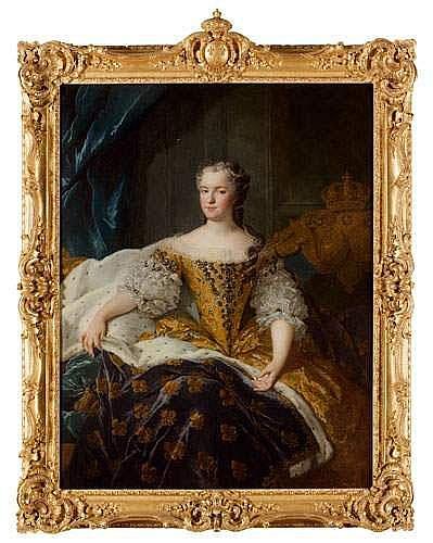 Alexis Simon BELLE (Paris 1674 - 1734) - Portrait