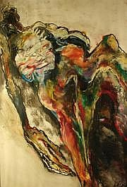 Lydie ARICKX (née en 1954) Abandon Gouache sur